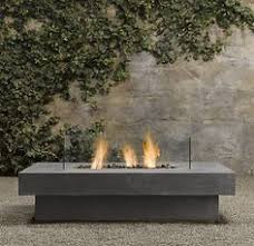 Restoration Hardware Fire Pit by Restoration Hardware Natural Gas Firepit In Weathered Slate For