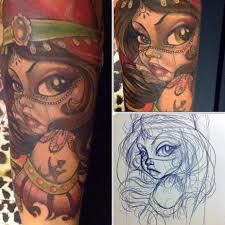 entretien avec la tatoueuse amy mymouse derm ink