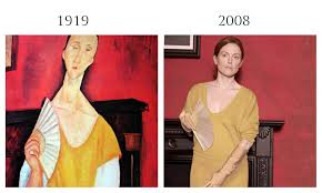 modigliani woman with a fan amedeo modigliani s modern aesthetic was characterized by his