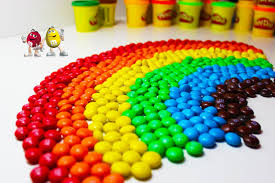 colors of rainbow with 1000 thousand m u0026m u0027s youtube