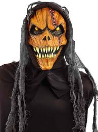 pumpkin mask scary hooded pumpkin mask scary masks