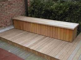Diy Outdoor Storage Bench Seat by The 25 Best Deck Storage Bench Ideas On Pinterest Garden