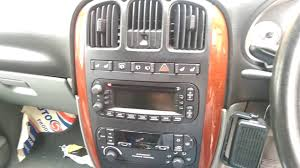 chrysler dodge grand voyager caravan 2004 2001 2007 radio