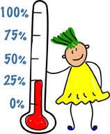fundraising thermometer printable clip art library