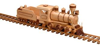Making Wooden Toy Train Tracks by Patterns U0026 Kits Trains 99 Locomotive U0026 Tender Wood Burner