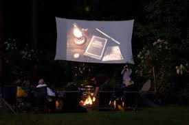 backyard movie screen u2013 diy outdoor home design garden