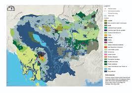 Map Of Cambodia Datasets Od Mekong Datahub
