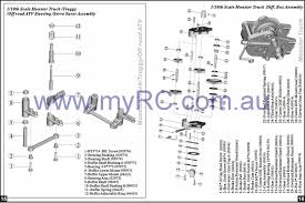 nitro monster truck rc himoto rc car parts lists
