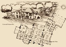 Spanish Colonial Architecture Floor Plans C A Nelson Architects Dallas Texas Spanish Architecture