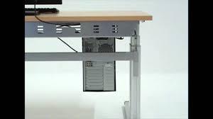 Schreibtisch Elektrisch H Enverstellbar Funvit Com Arbeitsplatte Hornbach