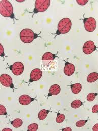 wholesale ladybugs fleece fabric wholesale polar fleece fabric