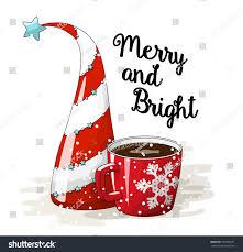 seasonal motive abstract red white christmas stock vector