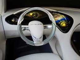 chrysler car interior chrysler 200c ev concept car interior cars chrysler grey