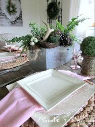 spring fern u0026 nest u0027s tablescape rustic u0026 refined