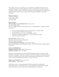 Resume Samples Letters by Sample Letter Of Recommendation For Law From Attorney All