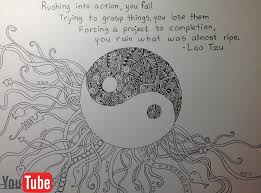 yin yang doodle a quote to live by by akium on deviantart
