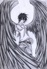 drawings of angels drawing pencil