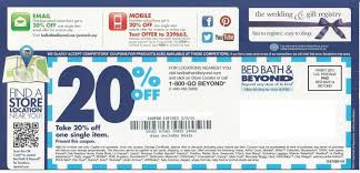bed bath beyond 20 off bed bath and beyond october printable coupons online