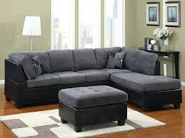 Gray Microfiber Sectional Sofa Gray Sectional Kulfoldimunka Club