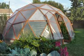 Garden Greenhouse Ideas How To Build A Geodome Greenhouse Northern Homestead