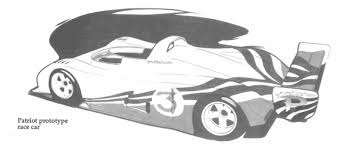 chrysler patriot hybrid electric racing car 20 years early for f1