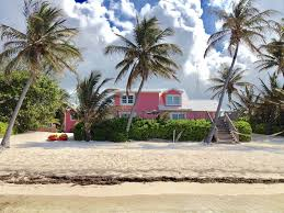 the pink beach house private house and po vrbo