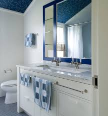 blue bathroom floor tiles ideas and pictures