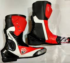 racing boots motorbike ducati leather motogp boots suits set