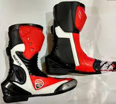 cheap motorbike shoes motorbike ducati leather motogp boots suits set
