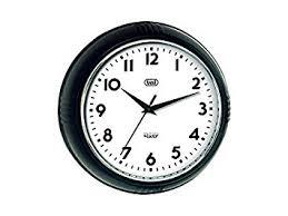 Horloge Murale Ronde Blanche Avec Trevi 3314 Horloge Murale Style Rétro Ronde Et Silencieuse 24