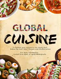 global cuisine hopes to spark cus diversity the brown and white
