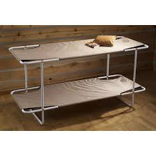 Bunk Bed Cots For Cing Guide Gear C Bunk Bed Khaki 71676 Cots At Folding Bunk Bed