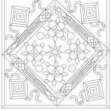 mandalas advanced coloring pages printable coloring pages