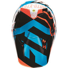 orange motocross gear fox racing 2016 youth v3 divizion helmet aqua available at