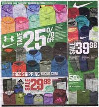 Is Sporting Goods Open On Thanksgiving S Sporting Goods Black Friday 2016 Ad Scan