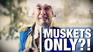 the 2nd amendment for muskets only