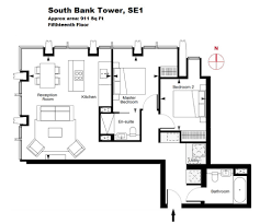 2 bedrooms property available for sale in south bank tower 55