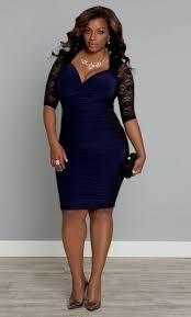 navy blue cocktail dress plus size naf dresses