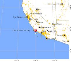 santa california map santa ynez valley california ca 93463 profile population maps