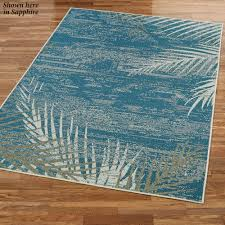Tropical Outdoor Rugs Distressed Palm Tropical Indoor Outdoor Rugs