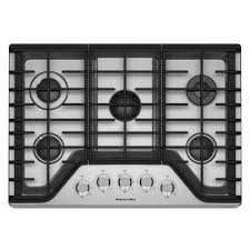 Ge 30 Inch Gas Cooktop Kitchen Top Gas Cooktop With Downdraft Ventilation System 30 Inch