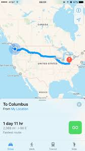 Columbus Route Map by Top Update S On Twitter