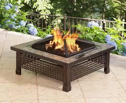 slate fire pit table pleasant hearth 34 bradford slate fire pit ghp group inc