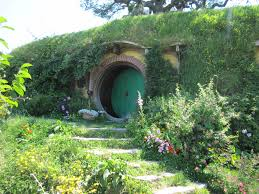 the shire lotr and hobbit movie set in matamata new zealand bag end