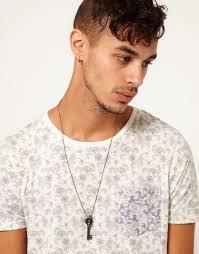 key necklace men images Lyst kr3w key necklace in metallic for men jpeg