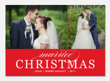 married christmas cards newlywed christmas cards photoaffections