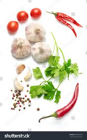 Spices Mediterranean Kitchen Mediterranean Food Drink Healthy Lifestyle Concept Stock Photo