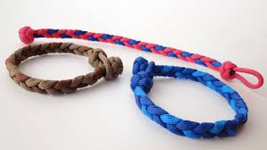 bracelet knots youtube images How to make a basic 3 strand flat braid diamond knot and loop jpg