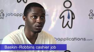 baskin robbins interview cashier youtube