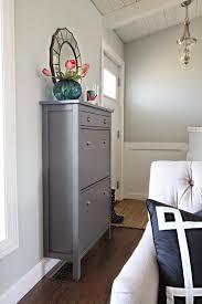 ikea hack shoe cabinet simple details ikea hemnes cabinet ikea hacks pinterest